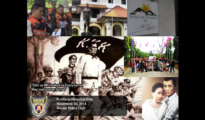 Bonifacio Day RRC Historical Ride