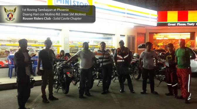 """1st Roving """"Tambayan"""" Bike Night at Phoenix Molino Rd Cor DaangHari"""