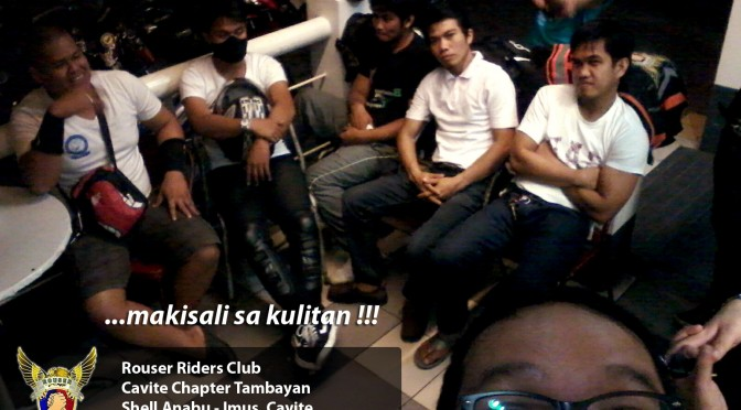 "Bike night ""Tambayan"" at Shell Anabu, Cavite in Front of Puregold"